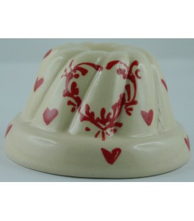 Kougelhopf individuel - Nature coeur rouge
