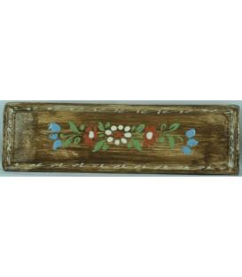 Lèche-cuillère - Faux bois fleur