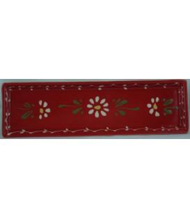 Lèche-cuillère - Rouge fleur