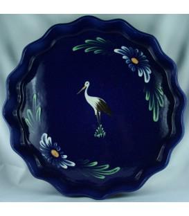 Tourtière 30 cm - Bleu cigogne
