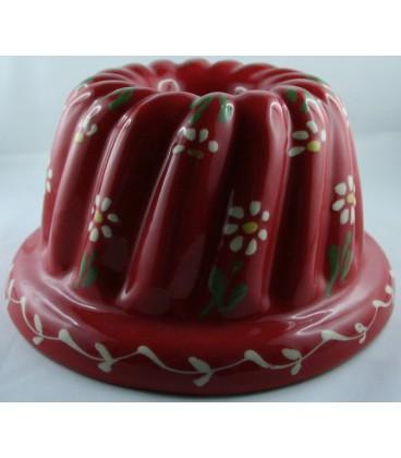 Kougelhopf pour 10 à 12 personnes - Rouge fleur